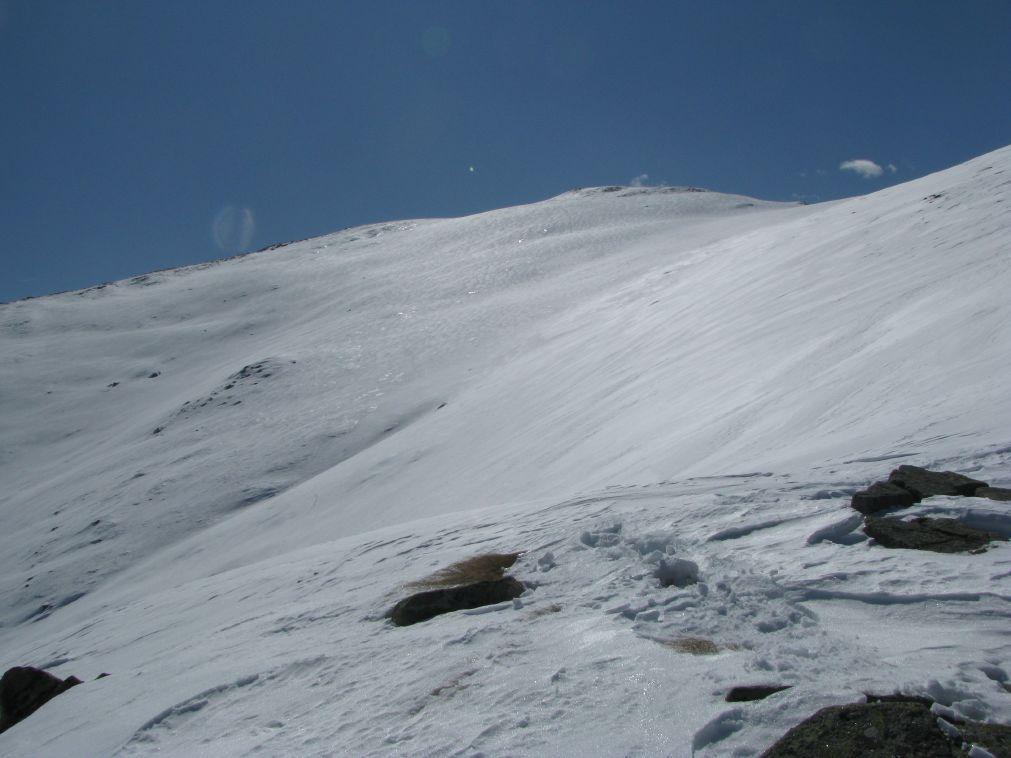 Il Monte Gregorio visto da La Cima