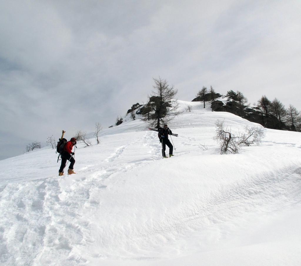 Risalita al monte Roccere