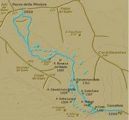 Mappa della gita