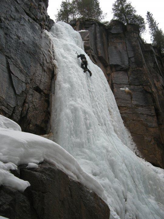 Fra sulla prima cascata