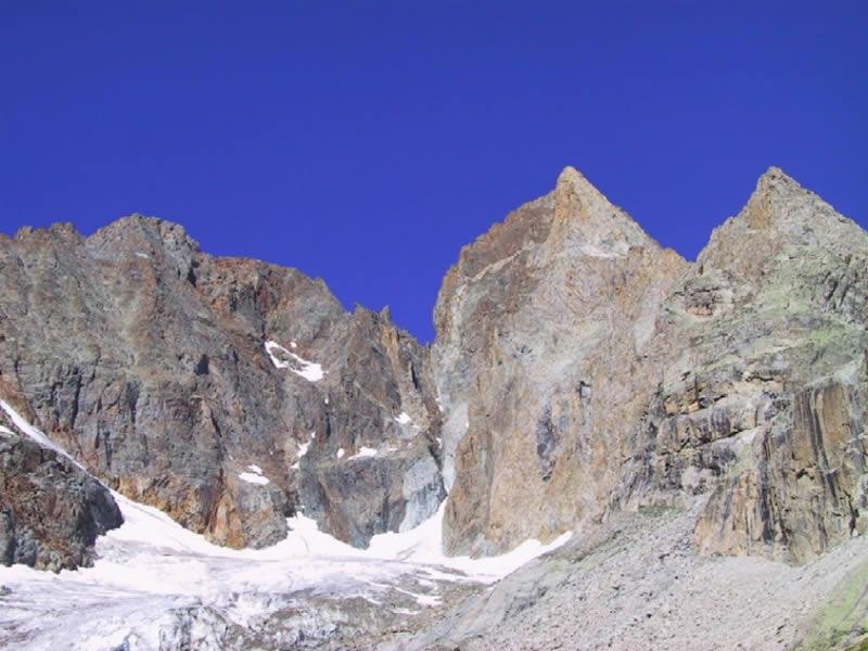 Geny (Pic) da La Berarde per la Cresta Est 2005-09-06