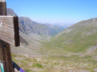l'alta valle thuras dal colle