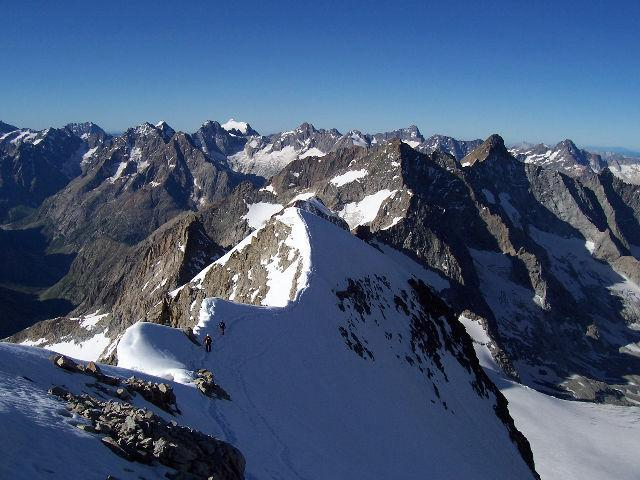 Rateau (le, cima Est) dal vallone de la Selle 2007-07-19