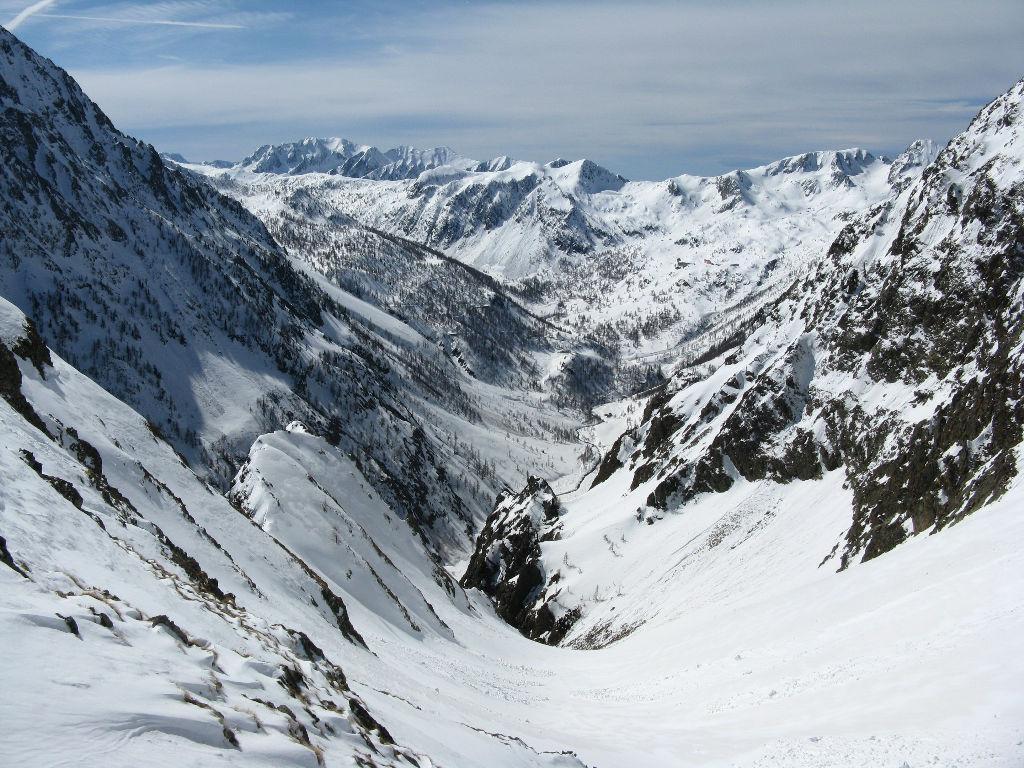 panorama verso il Vallone di S. Anna