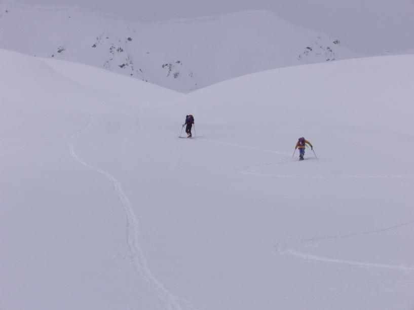 Salendo al Mont Flassen