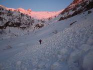 vallone della Meris all'alba