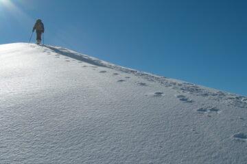 Sul crestone   I   Sur la grande arête   I   On the ridge   I   Auf dem Kamm   I   Sobre la cresta