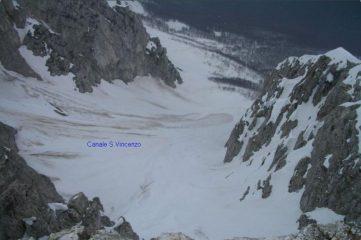Canale S. Vincenzo visto dall'alto
