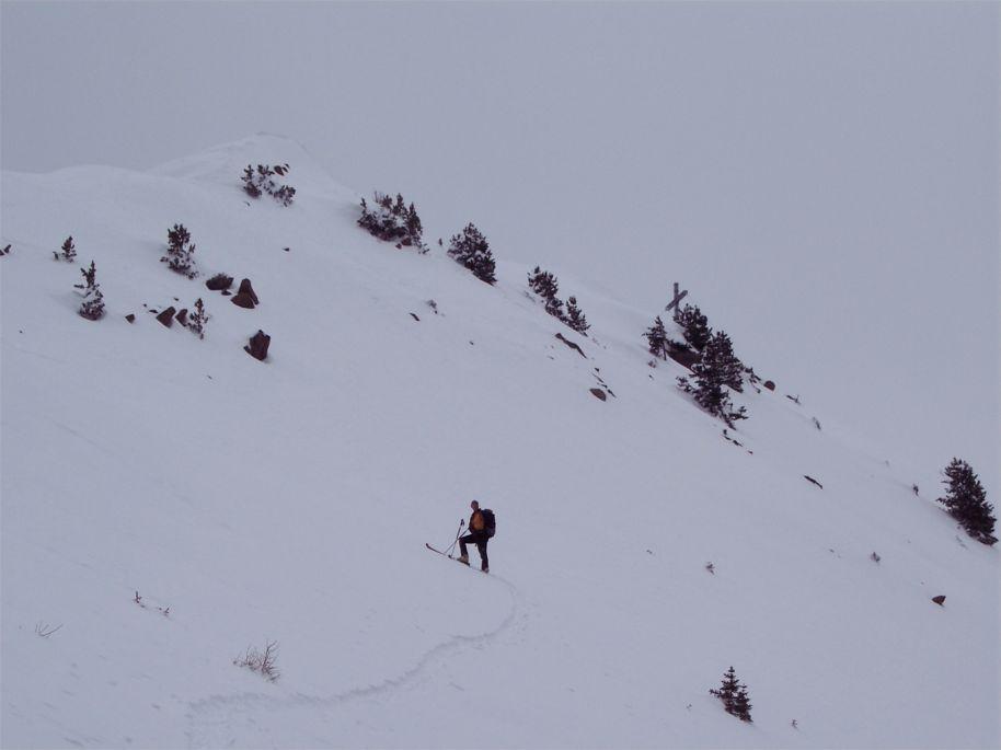 Ultimo pendio sotto la cima