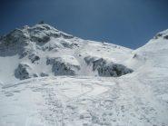 risalita alla spalla sciistica del monte Mucrone e canale di discesa
