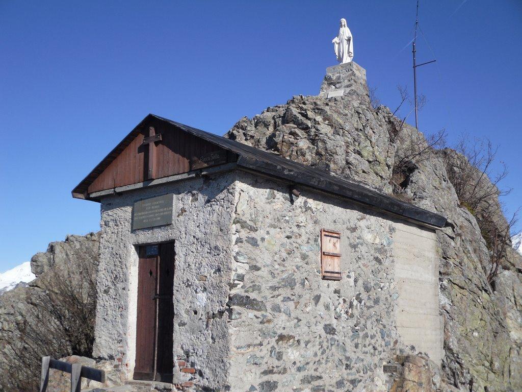 Sella (Rocca) da Celle, sentieri vari di Rocca Sella 2010-04-05