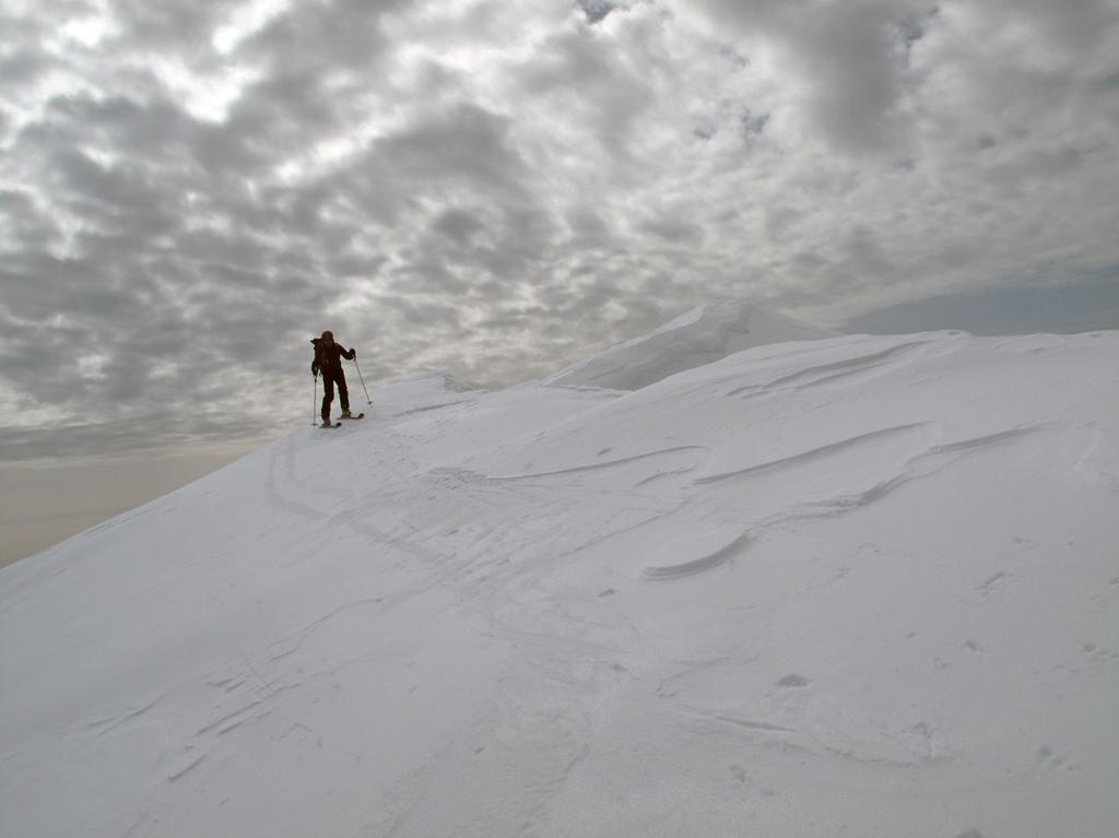 Partenza su neve dura