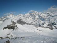 Dalla cima Bessanese e Ciamarella