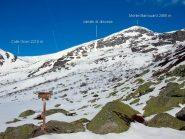 il Barrouard, visto dall'Alpe Sagnas