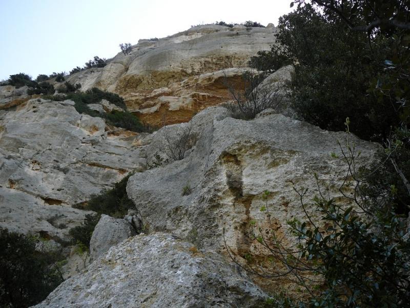 Pianarella (Bric) Via Lunga con variante di sx 2010-04-10