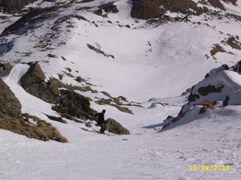 Rossa (Rocca) diretta NE 2010-04-10