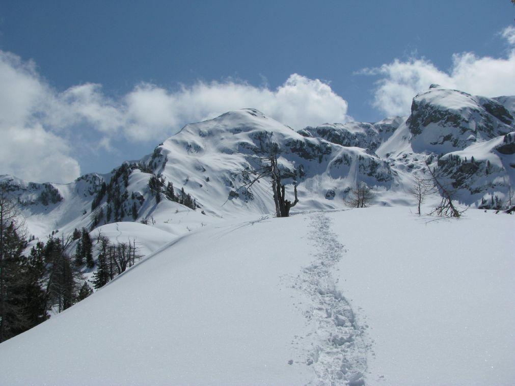 Panorama su quota 2253 e Mont Becchit