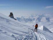 Sul ghiacciaio del Granpa