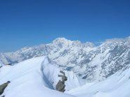 Monte Bianco visto dalla vetta