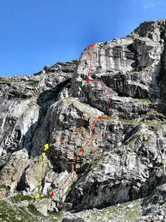 Quelli che la montagna (traccia di destra)