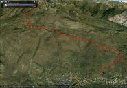 Traccia GPS del percorso