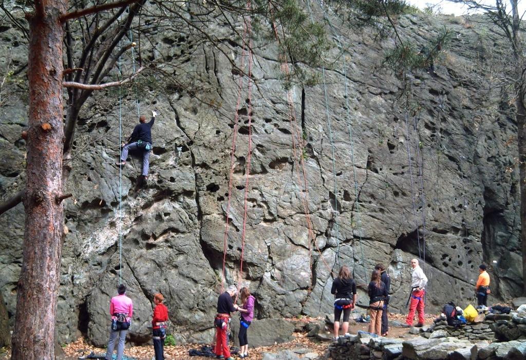 Chaillon (Mont) Palestra di Pontey 2010-04-18