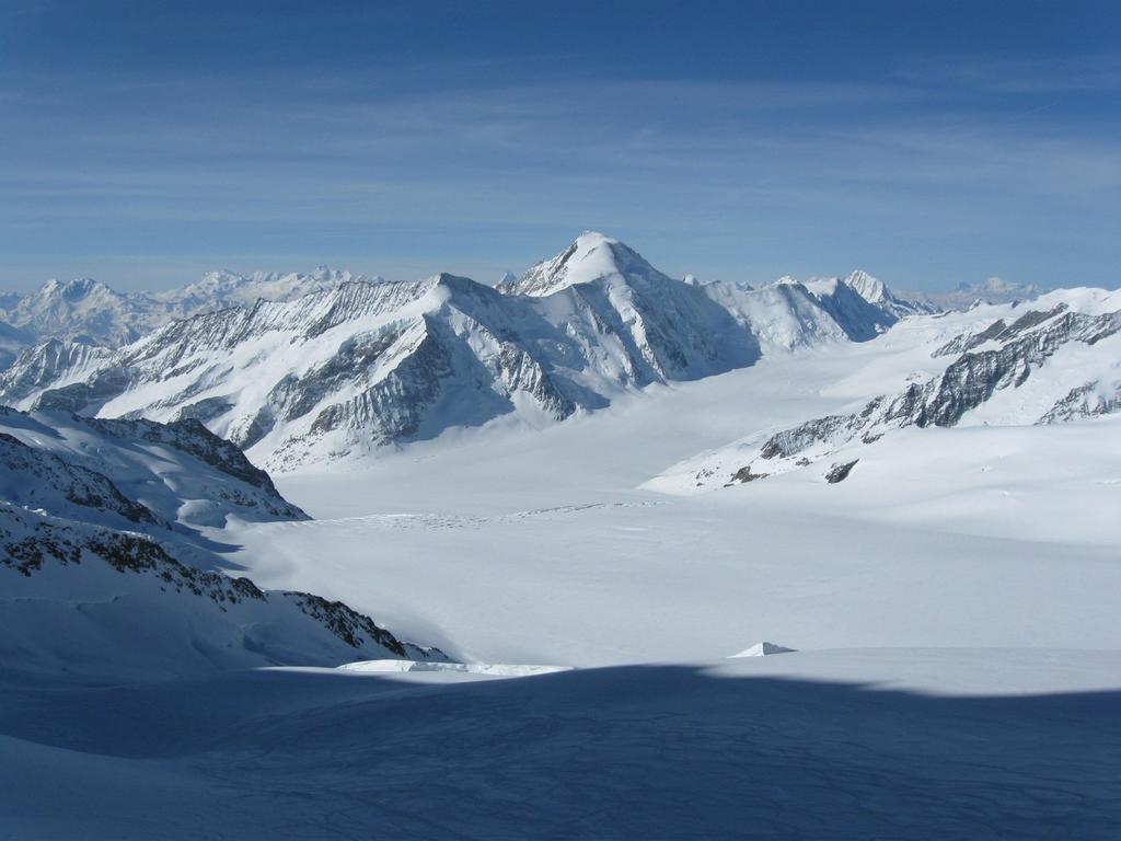 Aletschorn da nord