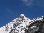 Cresta finale dal deposito sci