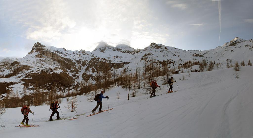 Verso l'alpe Champsec