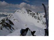 Il mont Siguret dalla vetta...
