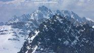panorami dalla cima : il Gruppo dell'Aiguille de Chambeyron (25-4-2010)