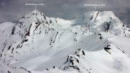 panorami dalla cima : Mongioia e Monte Salza (25-4-2010)