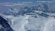 panorami dalla cima : il Gruppo del Brec de Chambeyron (25-4-2010)