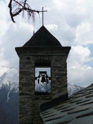 Campanile chiesa di Andorina