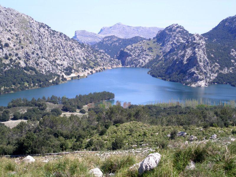 Massanella (Puig de) dal lago del Cuber 2010-04-27
