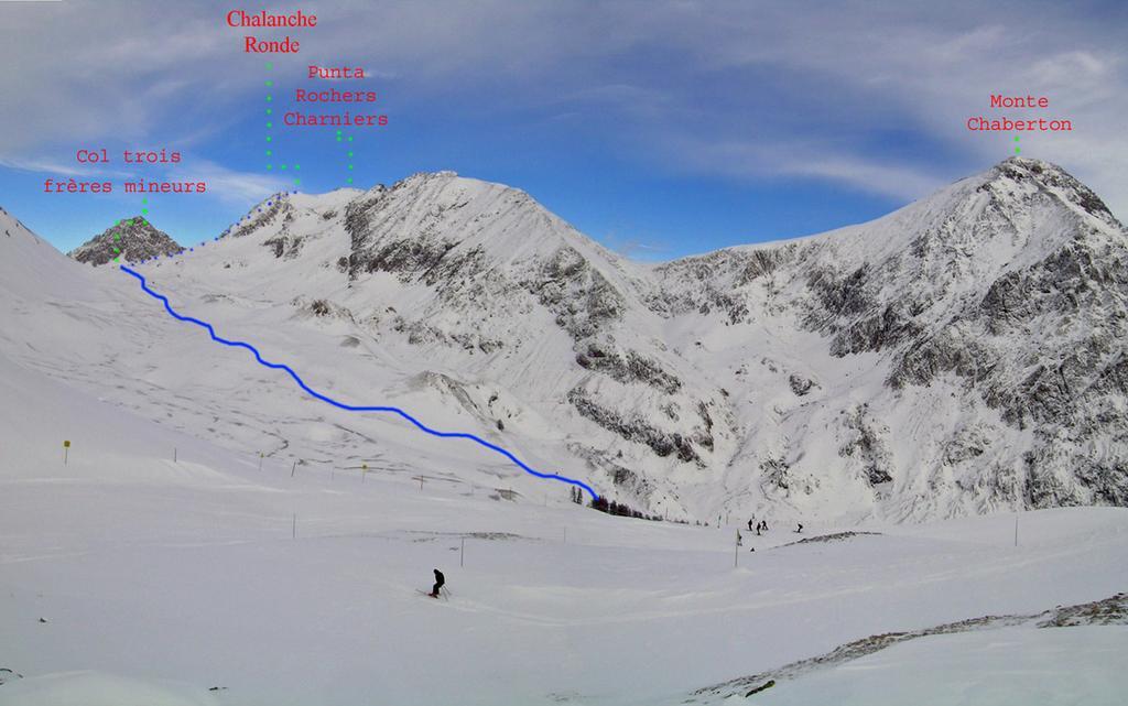 Itinerario dal colle Alpet