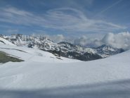 Panorama verso la Valle d'Aosta