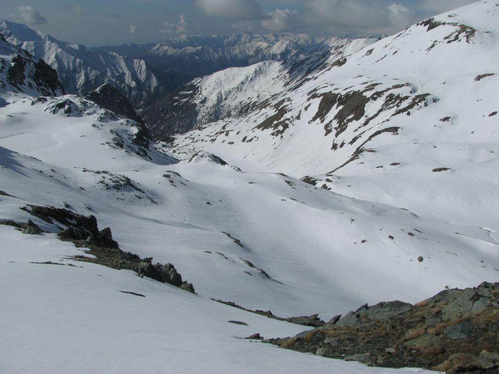 Panorama  sul fondovalle della Reale