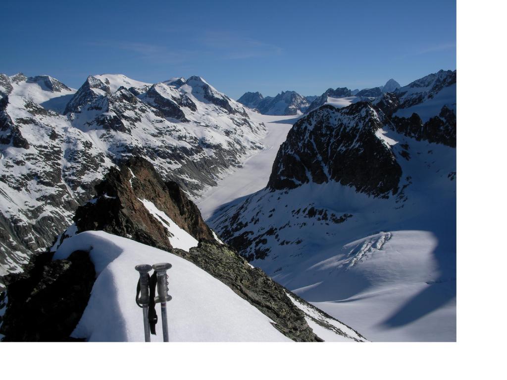 Il Glacier d'Otemma dalla Trouma de Boucs