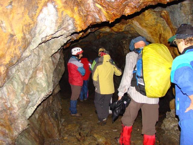 interno miniera di Ceresa