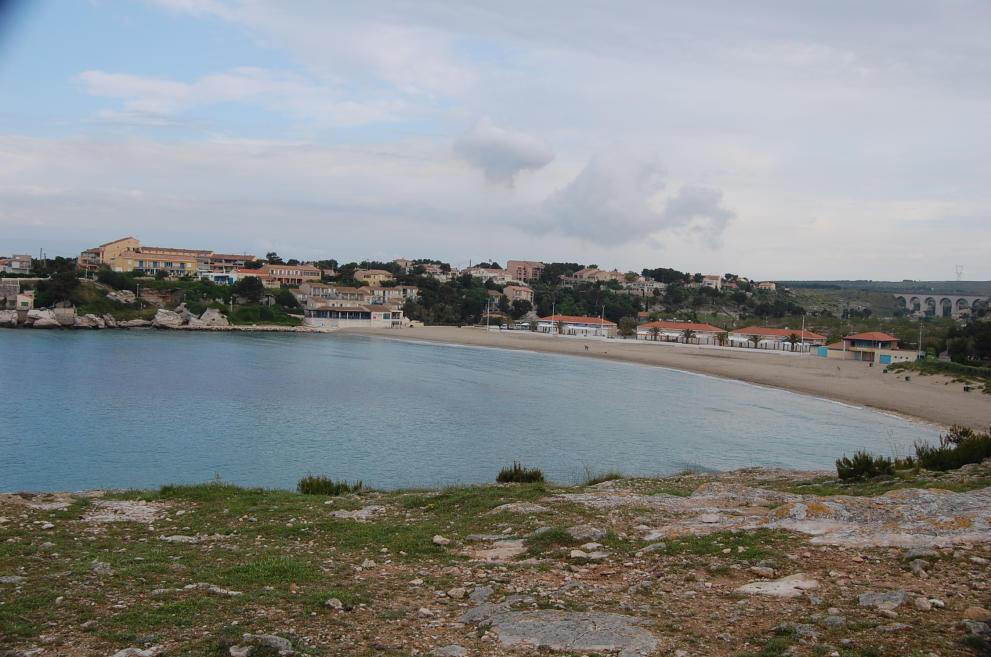 la spiaggia del Verdon