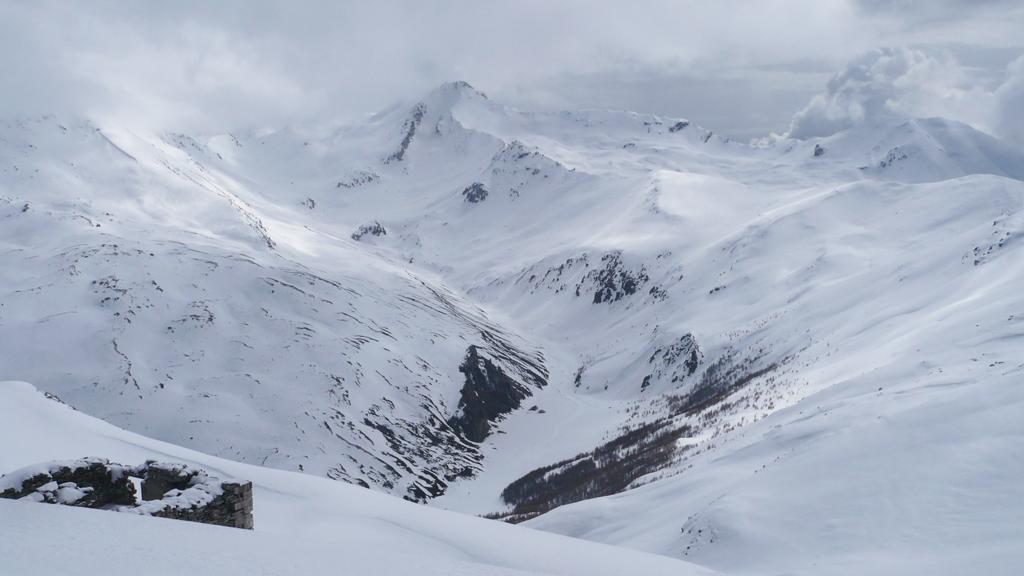 Panorama verso la Valfredda