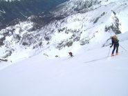 sciare sospesi sul vuoto