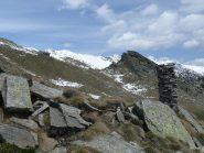 Il colle e le prime montagne del Piantonetto
