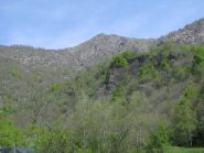 La Punta Arbella vista da Fracchiamo