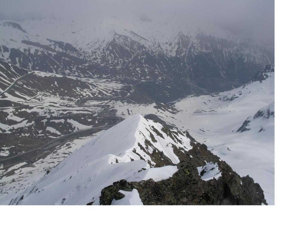 Il Col de L'Autaret dalla punta...