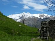 Panorama sull'alta valle