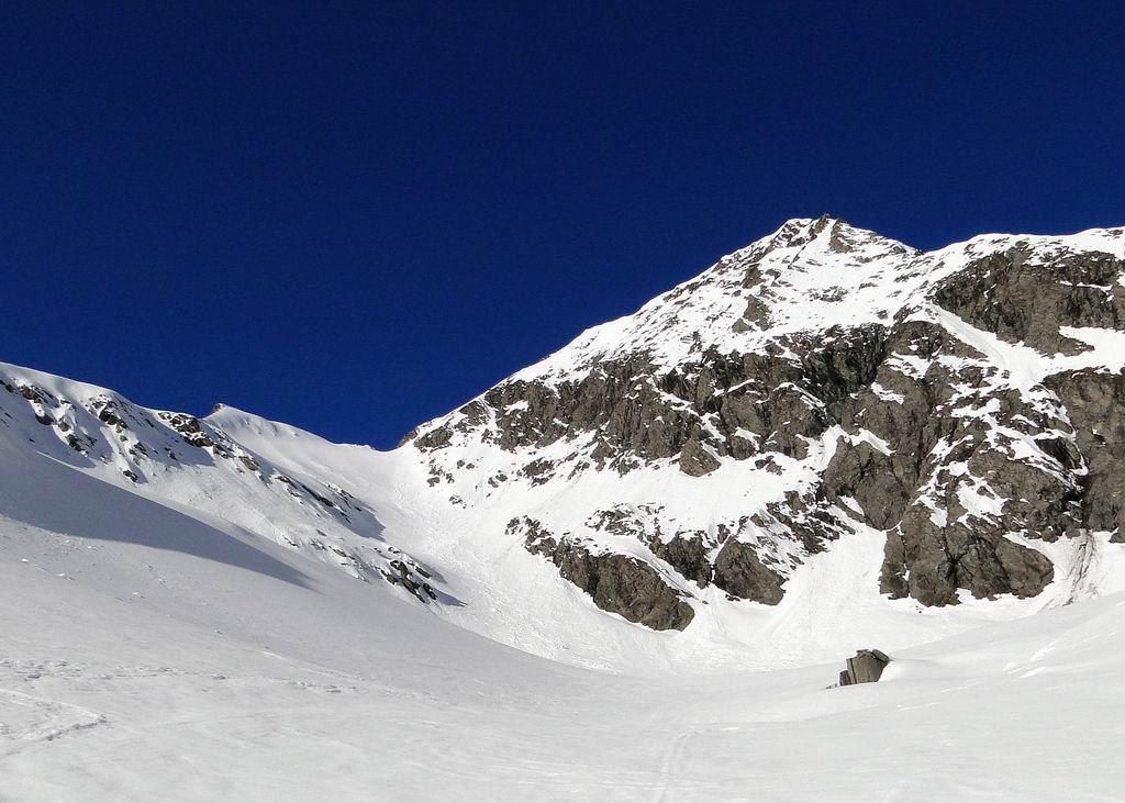 Dal colle 2977m sulla dx cresta SE del Barifreddo