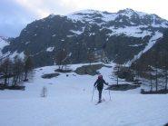 rifugio Migliorero 2100 m.