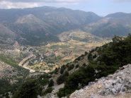 L'altopiano di Askifou.